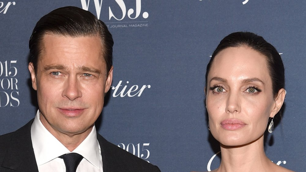 Is there tension between Angelina Jolie and Brad Pitt's parents?